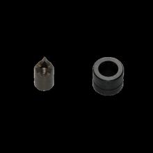 Stempel + Matrize  ø 12,5 mm / M12 TX mit Gew. M6